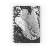 Angel Statue  Spiral Notebook