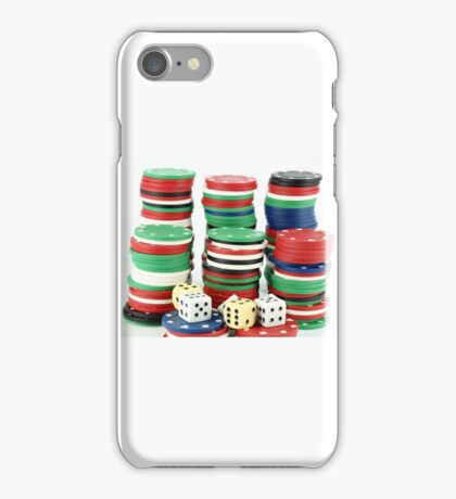 chips and dices iPhone Case/Skin