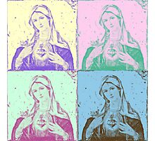 Mary Pop Photographic Print