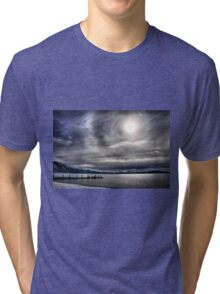 A Winter Sky Tri-blend T-Shirt
