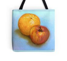 Still Life - Orange & Apple Tote Bag