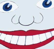 Tillie Face Asbury Park NJ Sticker