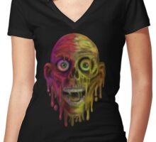 Tar Man 2 Women's Fitted V-Neck T-Shirt