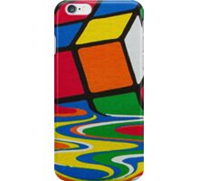Big Bang theory - Rubik's cube iPhone Case/Skin