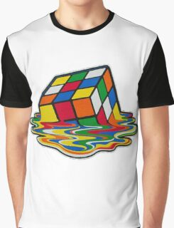 Big Bang theory - Rubik's cube Graphic T-Shirt