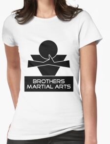 Brothers Martial Arts Womens Fitted T-Shirt