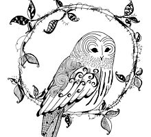Illuminate Owl by Franchesca Cox