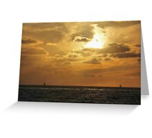 A Flame in the Sky Greeting Card
