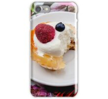 tart from fruit iPhone Case/Skin