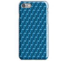 Blue cubes iPhone Case/Skin