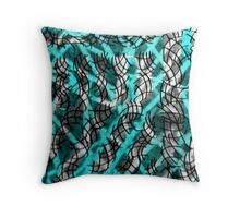 Complicated Theme from Deeper Departure Throw Pillow