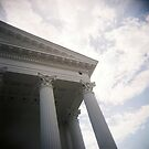 Columns and sky by KerrieMcSnap