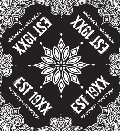 EST 19XX Leggings Sticker