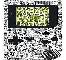 Gameboy Photographic Print