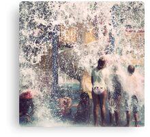 Splash! Canvas Print