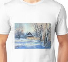 Winter Story in the Countryside Unisex T-Shirt