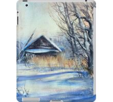 Winter Story in the Countryside iPad Case/Skin