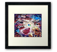 Gameboy Games Framed Print