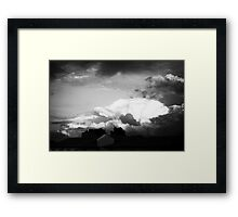 Sky at dusk Framed Print