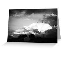Sky at dusk Greeting Card