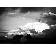 Sky at dusk Photographic Print