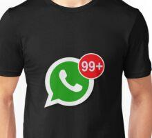 WhatsApp Messages Unisex T-Shirt