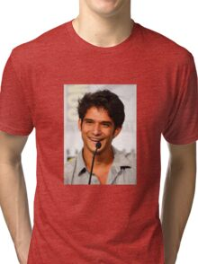 Cute Tyler Posey smile Tri-blend T-Shirt