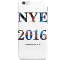 New Year's 2016 iPhone Case/Skin