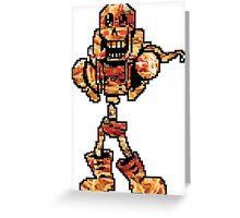 Spaghetti Papyrus Greeting Card
