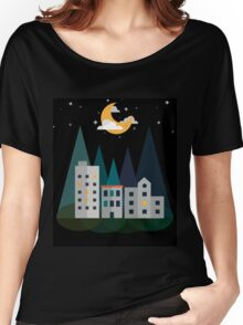 At Night Women's Relaxed Fit T-Shirt