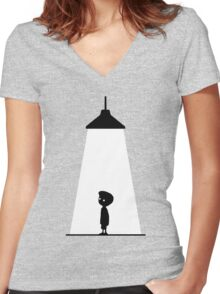 Limbo Women's Fitted V-Neck T-Shirt