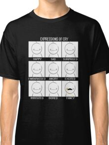 Expressions of Cry Classic T-Shirt