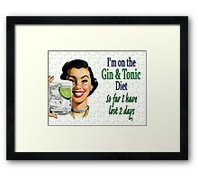 Low on Fat fer Sure Framed Print