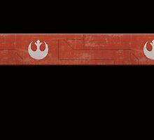 Rebel Badge and Stripe - Star Wars by TrendSpotter