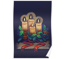 Merry Christmas - advent wreath is for you! Poster
