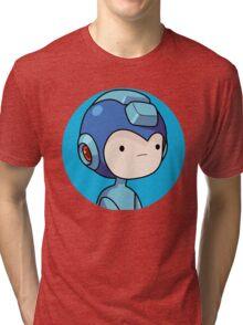 Mega man Tri-blend T-Shirt