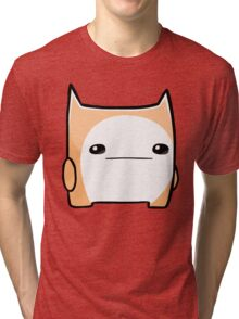 Battleblock Cat Tri-blend T-Shirt