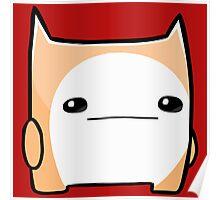 Battleblock Cat Poster
