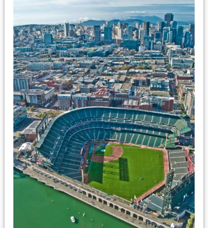 SF Giants Stadium  Sticker