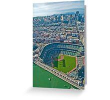 SF Giants Stadium  Greeting Card