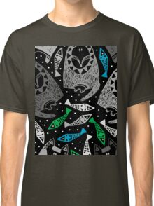 wolf, fox and fish #3 Classic T-Shirt