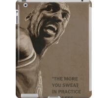 Michael Jordan - quote iPad Case/Skin