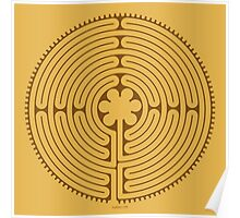 Chartres Labyrinth Poster