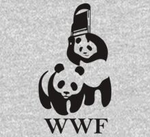 WWF parody One Piece - Long Sleeve