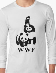WWF parody Long Sleeve T-Shirt