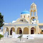 Church, Oia, Santorini, Greek Islands by Carole-Anne