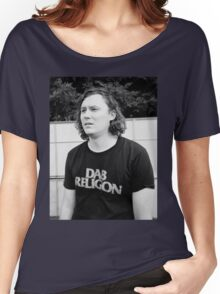 """Brian Sella (The Front Bottoms) """"Dab Religion"""" Women's Relaxed Fit T-Shirt"""
