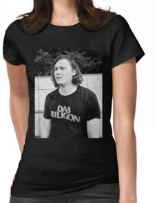 "Brian Sella (The Front Bottoms) ""Dab Religion"" Womens Fitted T-Shirt"