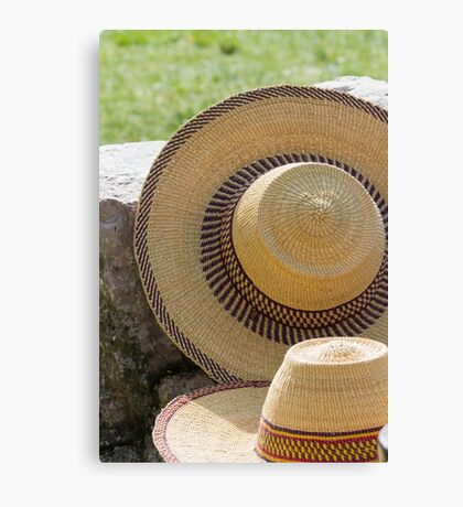 man's hat Canvas Print