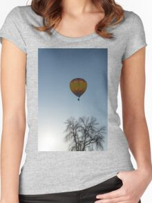 Hot Air Balloon Ride Women's Fitted Scoop T-Shirt